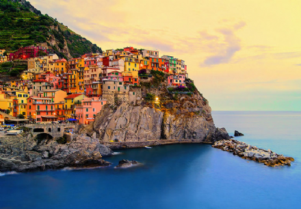 Cinque Terre Coast wall mural wallpapers